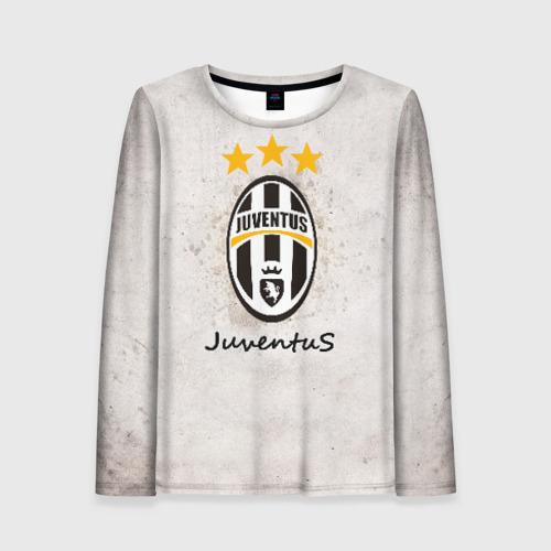 Женский лонгслив 3D Juventus3