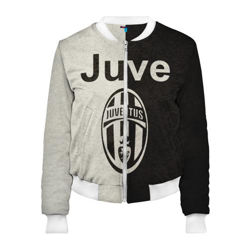 Женский бомбер 3D Juventus6