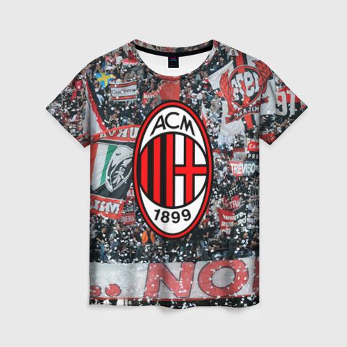 Женская футболка 3D Milan1