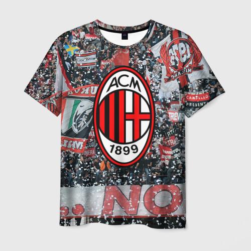 Мужская футболка 3D Milan1