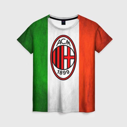 Женская футболка 3D Milan2