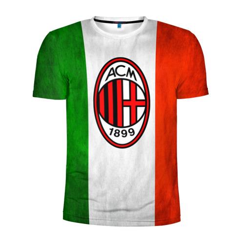 Мужская футболка 3D спортивная Milan2