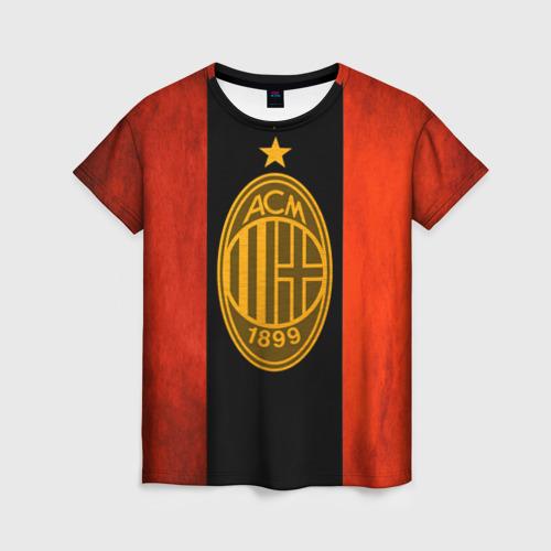 Женская футболка 3D Milan5