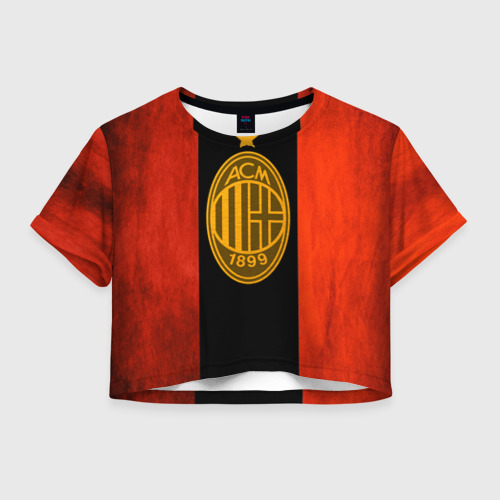 Женская футболка Crop-top 3D Milan5