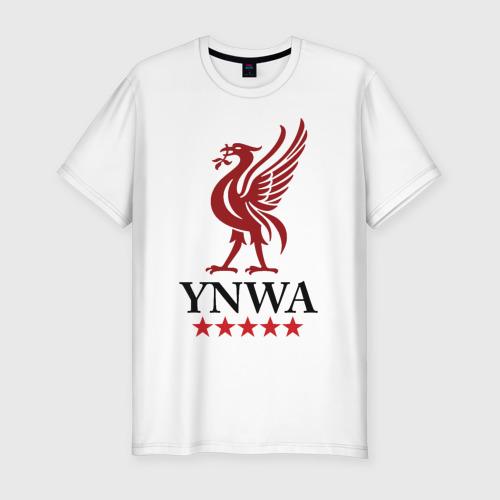 Мужская футболка хлопок Slim YNWA