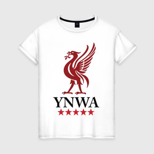 Женская футболка хлопок YNWA