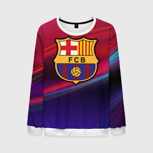 Мужской свитшот 3D ФК Барселона