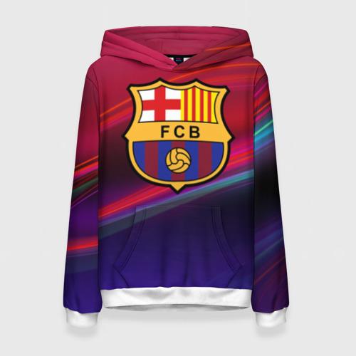 Женская толстовка 3D ФК Барселона