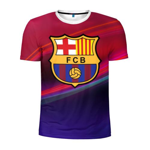 Мужская футболка 3D спортивная ФК Барселона