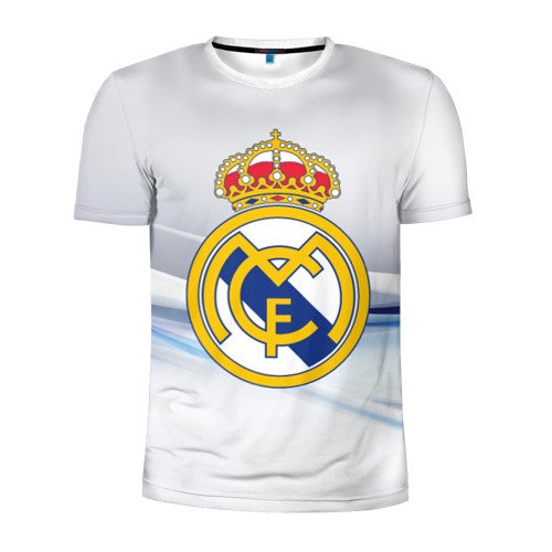 Мужская футболка 3D спортивная Реал Мадрид