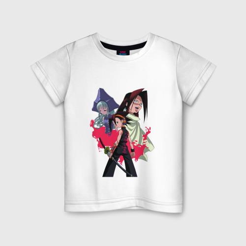 Детская футболка хлопок Shaman King
