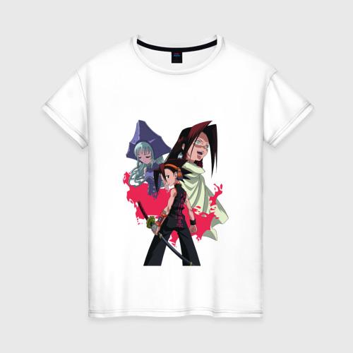 Женская футболка хлопок Shaman King
