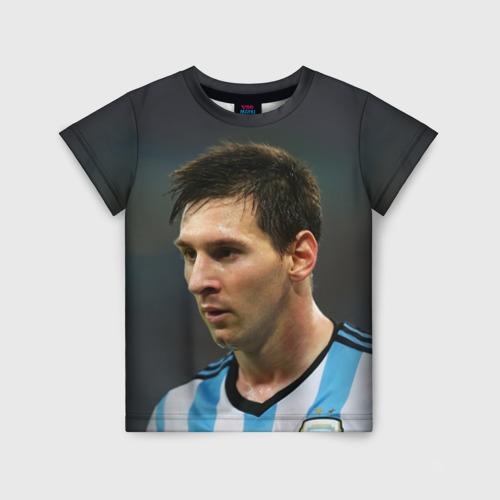 Детская футболка 3D Leo Messi