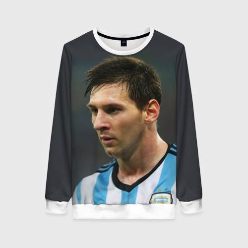 Женский свитшот 3D Leo Messi