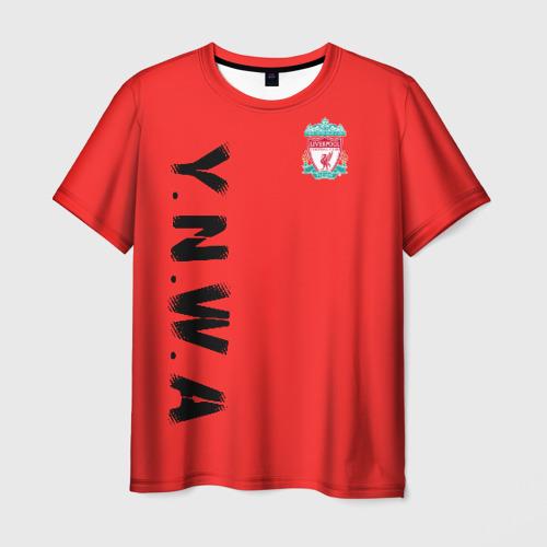 Мужская футболка 3D Ливерпуль
