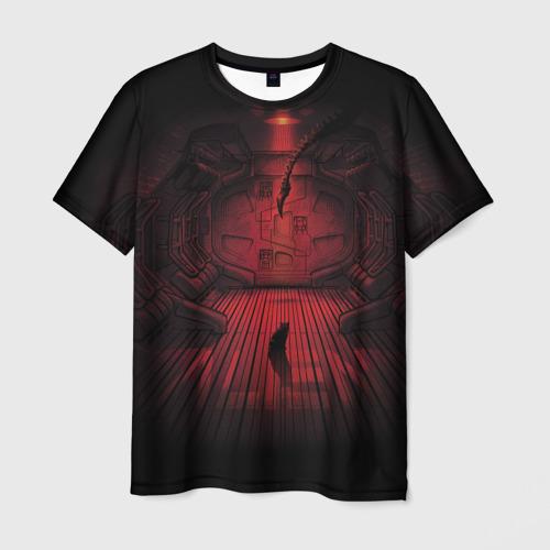 Мужская футболка 3D ALIEN