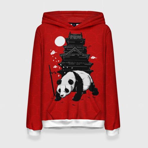 Женская толстовка 3D Panda Warrior