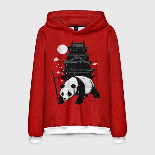 Мужская толстовка 3D Panda Warrior