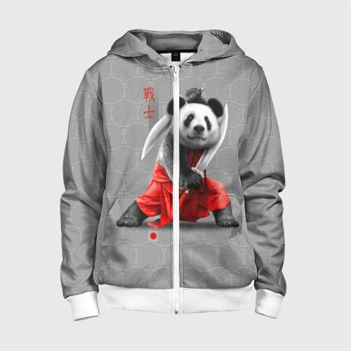 Детская толстовка 3D на молнии Master Panda