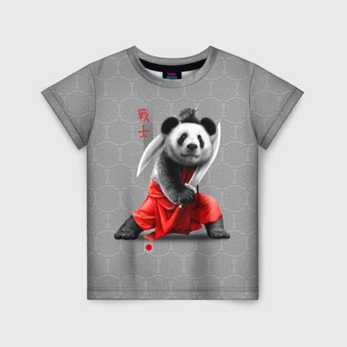 Детская футболка 3D Master Panda