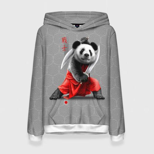Женская толстовка 3D Master Panda