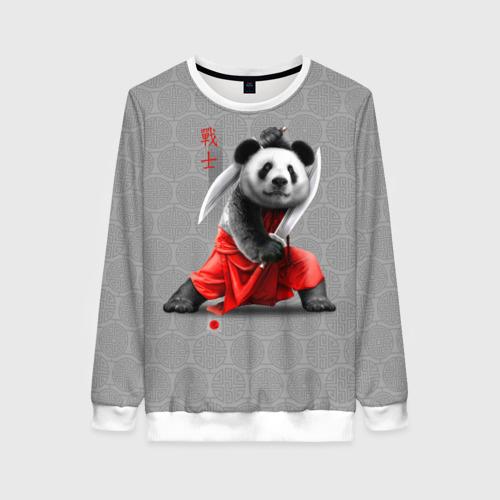 Женский свитшот 3D Master Panda