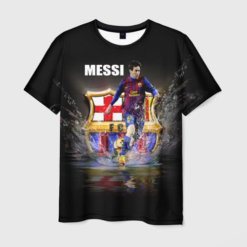 Мужская футболка 3D Месси