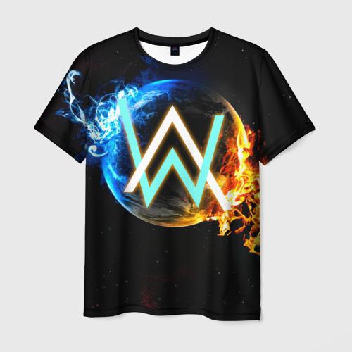 Мужская футболка 3D Alan Walker 5