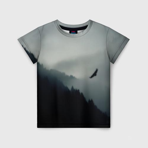 Детская футболка 3D Орёл