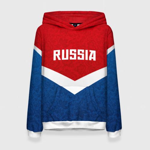 Женская толстовка 3D Russia Team