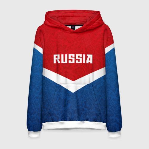 Мужская толстовка 3D Russia Team