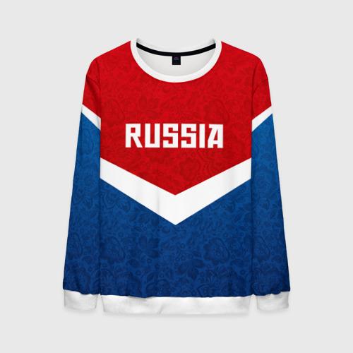 Мужской свитшот 3D Russia Team