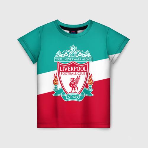 Детская футболка 3D Ливерпуль