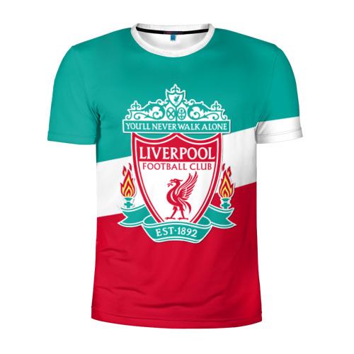 Мужская футболка 3D спортивная Ливерпуль
