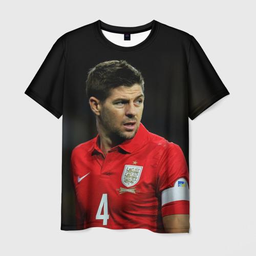 Мужская футболка 3D Steven Gerrard