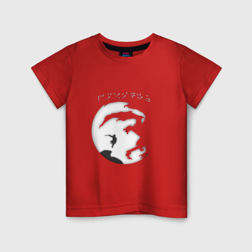 Детская футболка хлопок Dovakiin vs Alduin