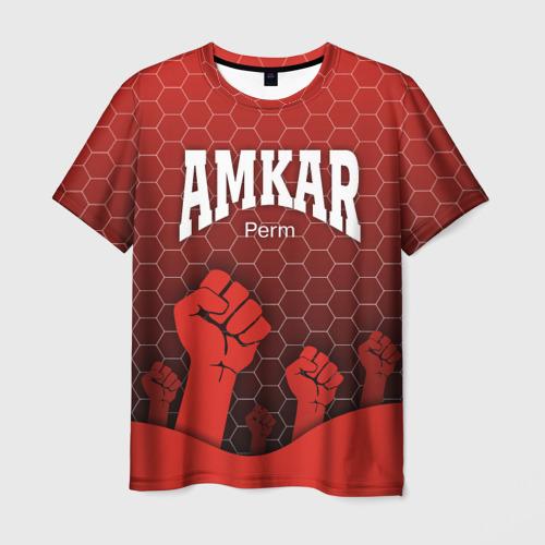Мужская футболка 3D Amkar Perm