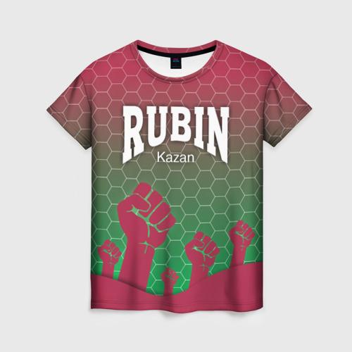 Женская футболка 3D Rubin Kazan