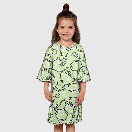 Детское платье 3D Формула