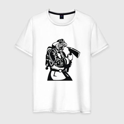 Мужская футболка хлопок МЧС