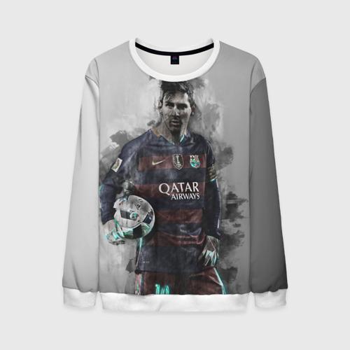 Мужской свитшот 3D Lionel Messi