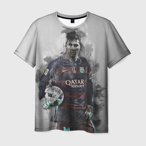 Мужская футболка 3D Lionel Messi
