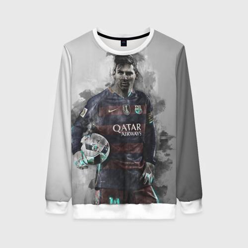 Женский свитшот 3D Lionel Messi
