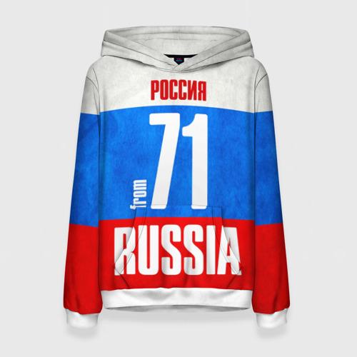 Женская толстовка 3D Russia (from 71)