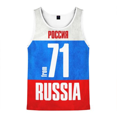 Мужская майка 3D Russia (from 71)