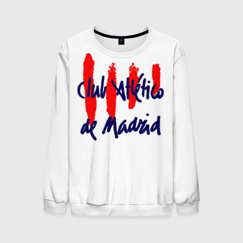 Мужской свитшот 3D Атлетико Мадрид