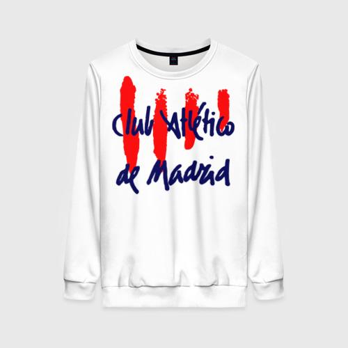 Женский свитшот 3D Атлетико Мадрид