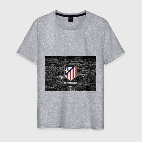Мужская футболка хлопок Атлетико Мадрид