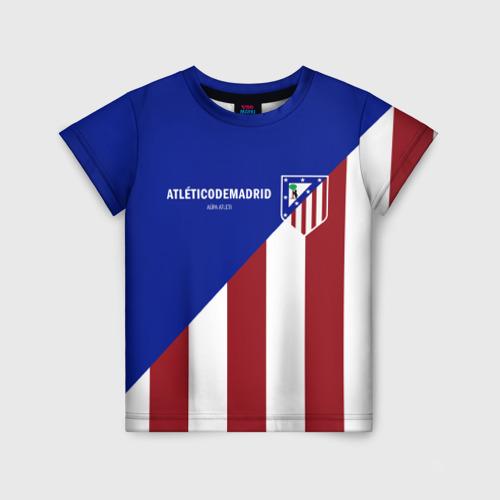 Детская футболка 3D Атлетико Мадрид