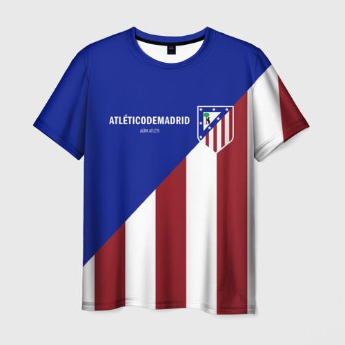Мужская футболка 3D Атлетико Мадрид